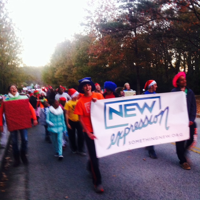 New Expression ATL in the Fayetteville Christmas Parade