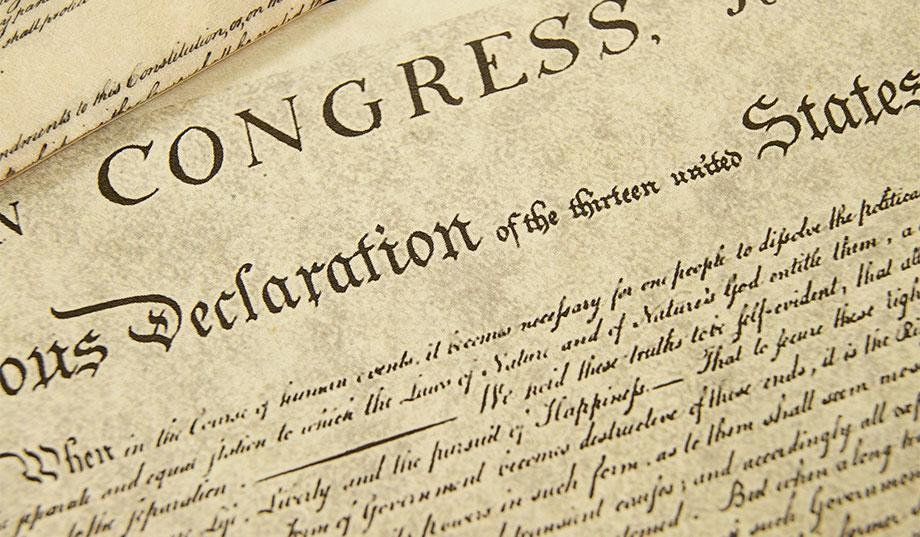 Declaration of Independence, America, New Way, Something New, Nonviolence training