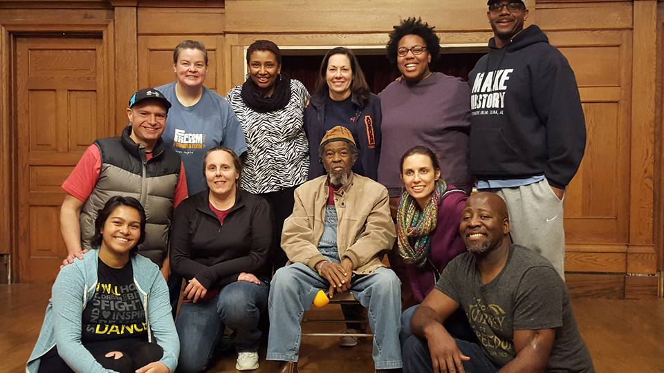 Cherita, New Way, Nonviolence, Conflict Reconciliation, MLK Day, Training