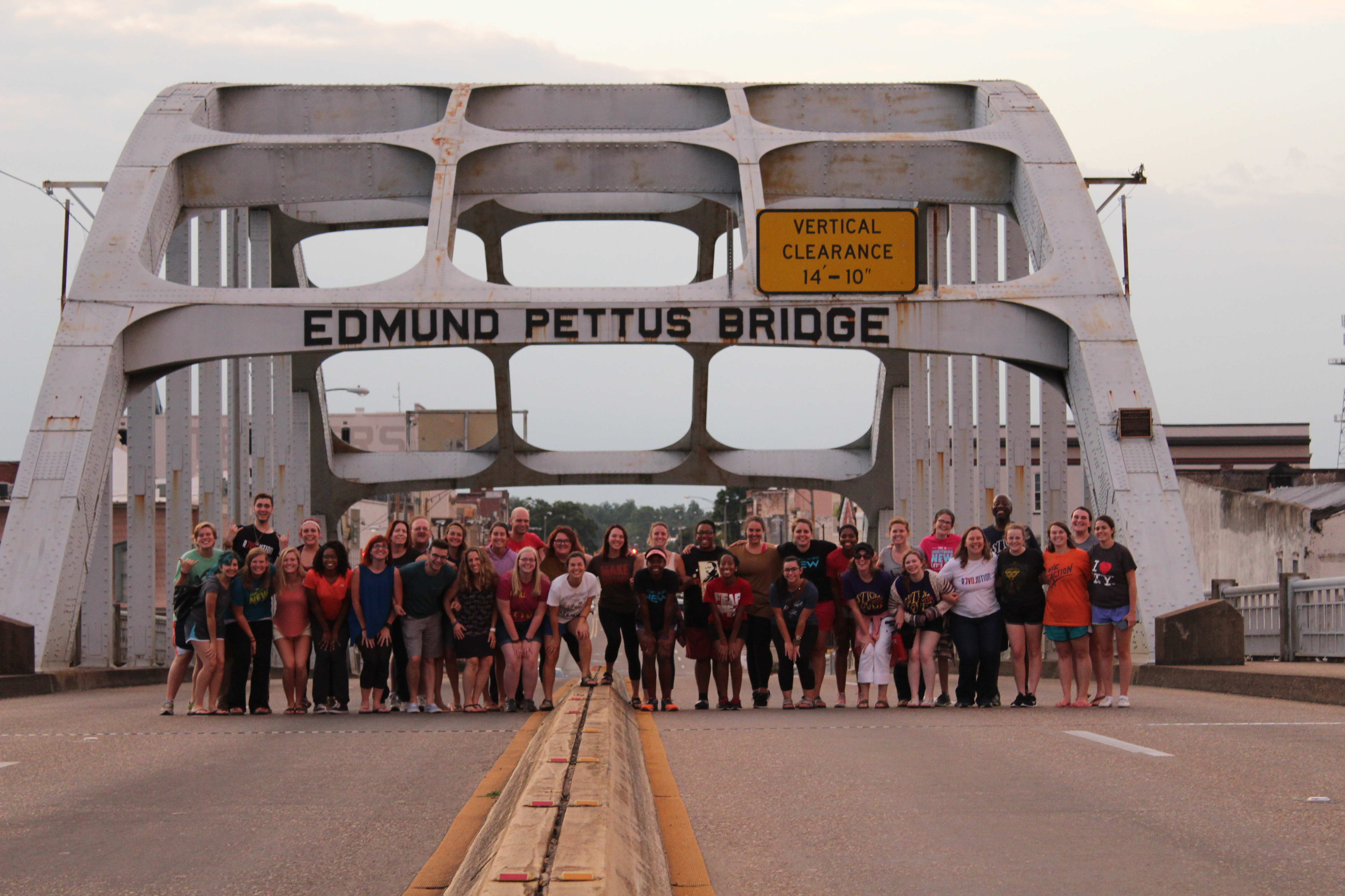 New Way, Summer Institute, Nonviolence, Conflict Reconciliation, Edmund Pettus Bridge, Selma